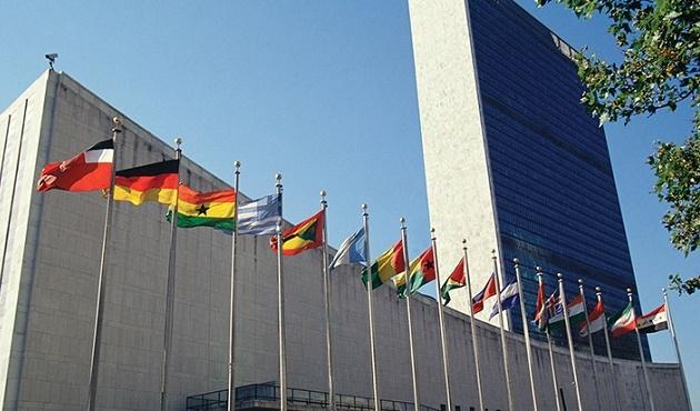 BM'de yangın paniği