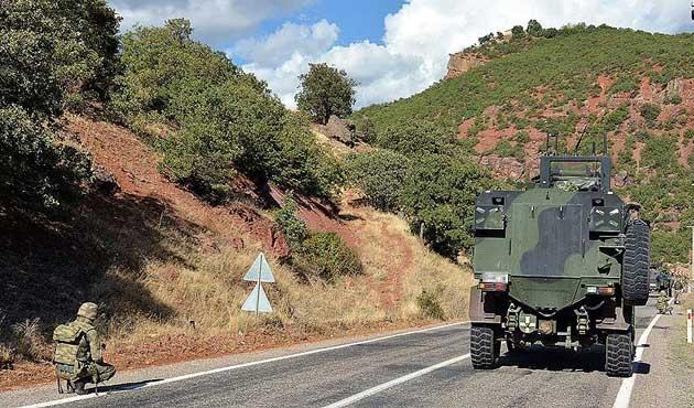 Tunceli'de çatışma: 3 PKK'lı yaralı olarak kaçtı
