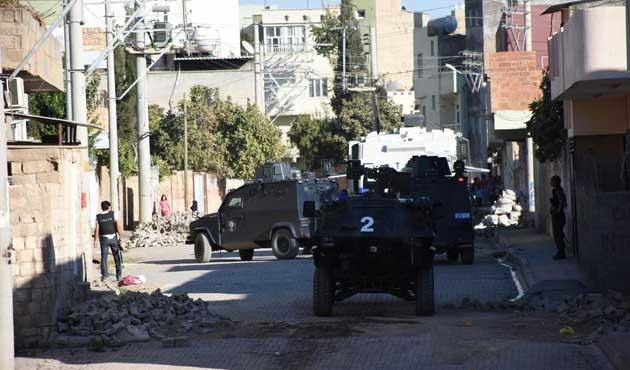 Nusaybin'de hendek kapatma operasyonu