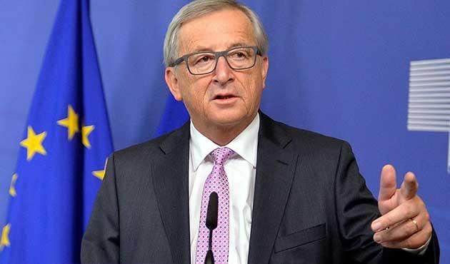 Juncker: Türkiye'de insan hakları şu an konumuz değil