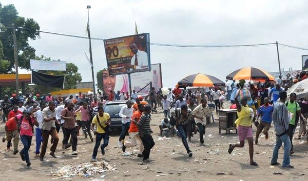 Demokratik Kongo'da muhalifler sokağa indi