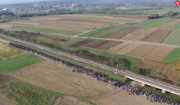 Avusturya, Slovenya sınırına duvar örüyor