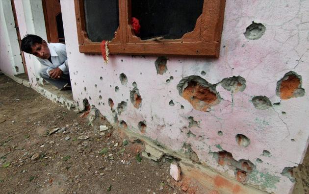 Pakistan Hindistan sınır hattında saldırı