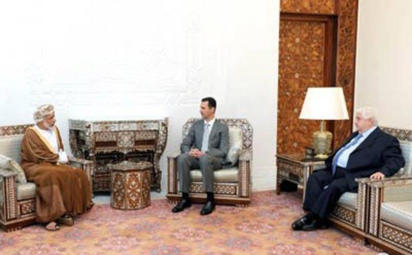 Umman Dışişleri Bakanı Alavi, Esad ile görüştü
