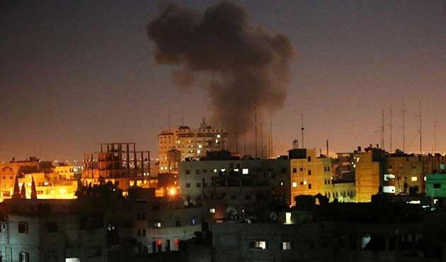 Gazze'ye yeni hava saldırısı