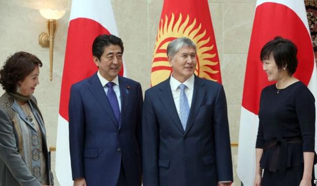 Japonya'dan Kırgızistan'a 1 milyar dolar yardım