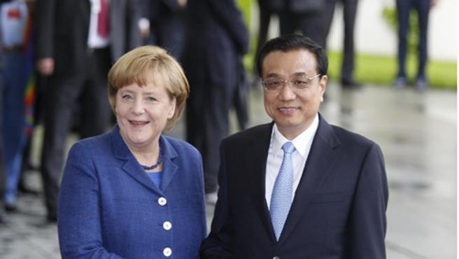 Merkel Çin'den milyarlarca avroyla dönüyor...