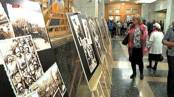 Moskova'da Çanakkale sergisi