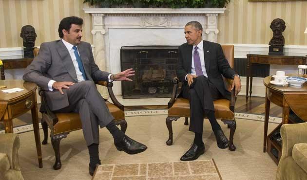 Katar Emiri Obama ile IŞİD'i görüştü