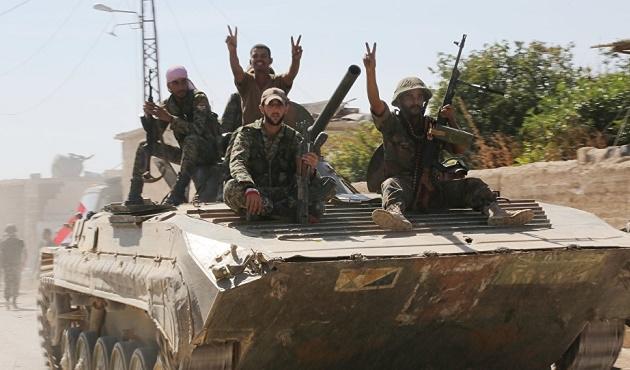 IŞİD'in 'özel timi' Suriye ordusuna teslim oldu