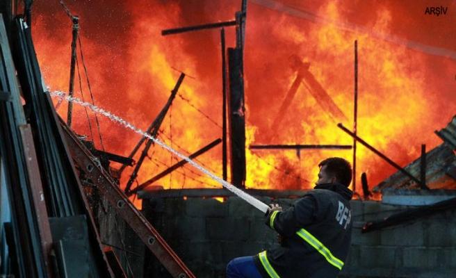 Filipinler'de yangın, onlarca can aldı