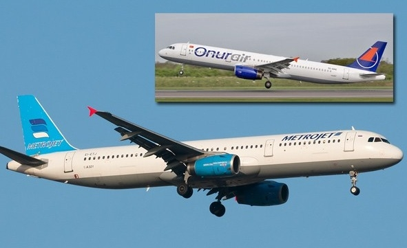 Düşen Rus uçağı 10 yıl Onur Air'de uçmuş