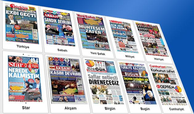 Hangi gazete seçim sonucunu nasıl gördü?