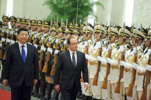 Fransa da Çin'le milyarlık anlaşma yaptı
