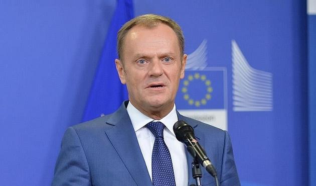 AB Konseyi Başkanı Tusk, Davutoğlu'nu kutladı