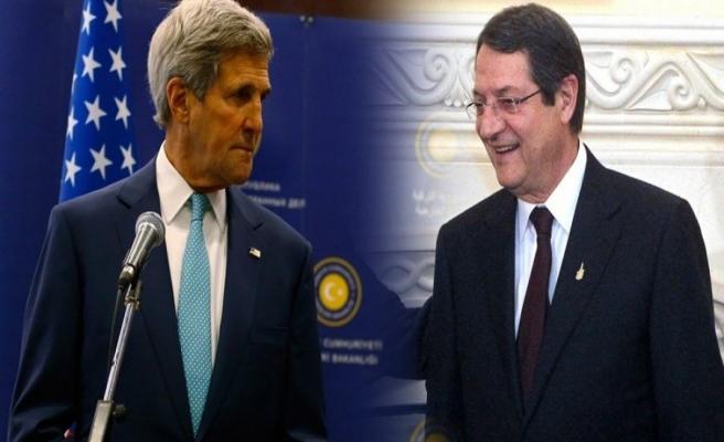 Kerry'nin Kıbrıs gündemi 'sır'