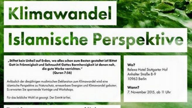 Almanya'da Müslümanlar İklim Sempozyumu düzenledi