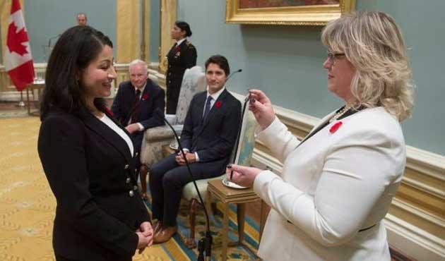 Kanada tarihinde ilk Müslüman bakan