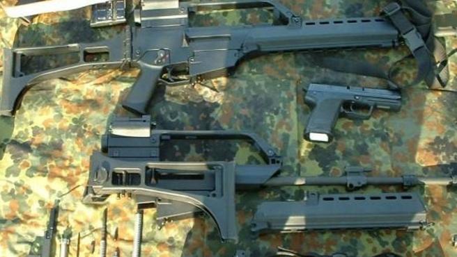 Almanya'dan Meksika'ya kaçak silah