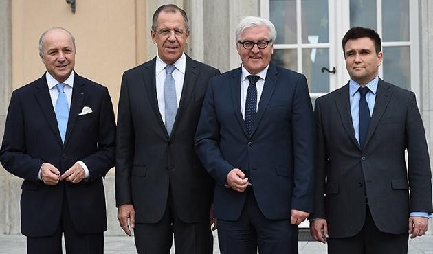 Berlin'de dörtlü  Ukrayna toplantısı