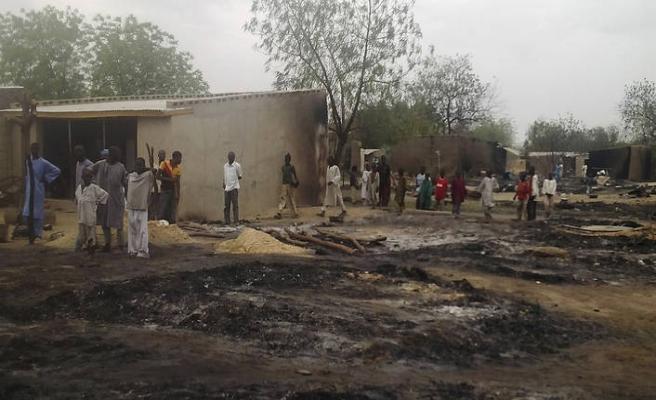 Nijerya'da terör mağdurları bayramda buluştu