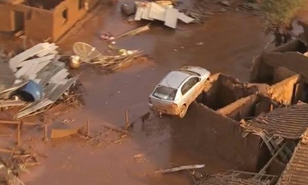 Brezilya'da baraj çöktü: 15 ölü, 45 kayıp