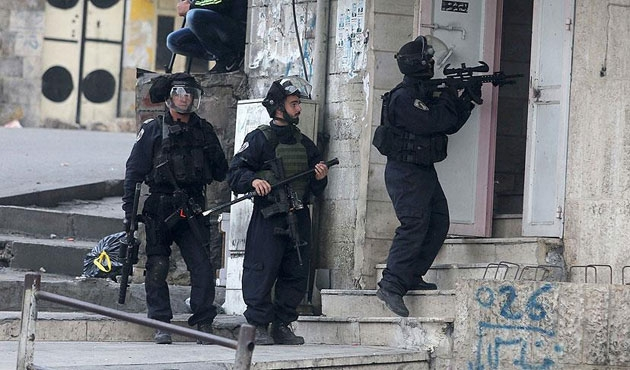 İsrail işgal güçlerinden göstericilere sert müdahale