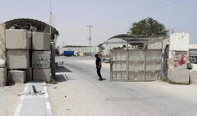 Gazze'nin tek ticari kapısı bugün açık olacak
