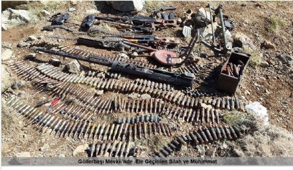 Diyarbakır ve Şırnak'ta 5 PKK'lı öldürüldü