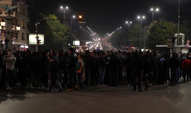 Bulgaristan polisinin protestoları devam ediyor