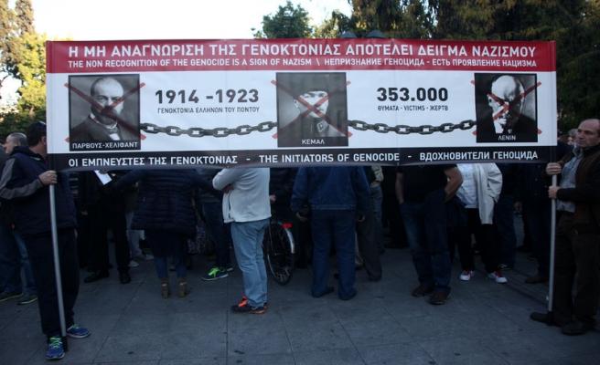 Atina'da  'Pontus soykırımı' çatlağı