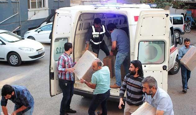 Şırnak'ta 130 bin paket kaçak sigara ele geçirildi
