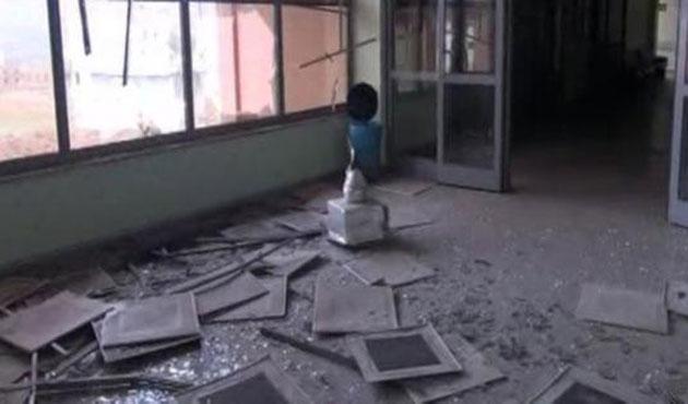 PKK Cizre'de hastaneyi vurdu
