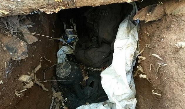 Bingöl'de PKK'ya ait sığınak imha edildi