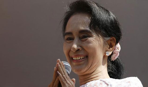 Müslümanların oy kullanamadığı Myanmar'da Kyi kazandı