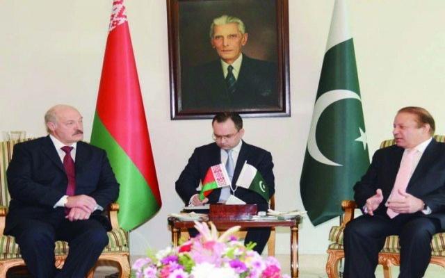 Pakistan ve Belarus'tan 18 anlaşma