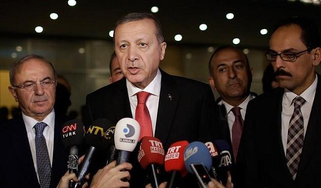 Cumhurbaşkanı Erdoğan'dan Suriye yorumu