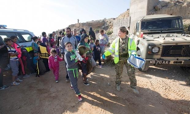 İngilizler G.Kıbrıs'taki mültecileri yarı yolda bıraktı