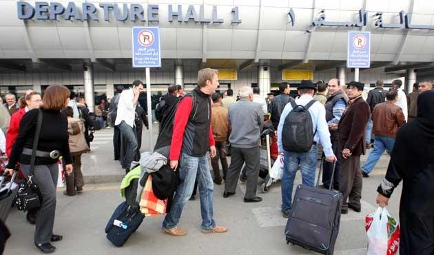 Mısır havalimanlarında büyük güvenlik zaafiyeti