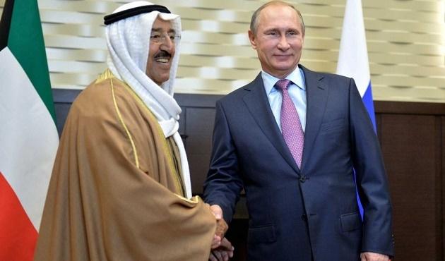 Kuveyt Emiri Şeyh es-Sabah Rusya'da