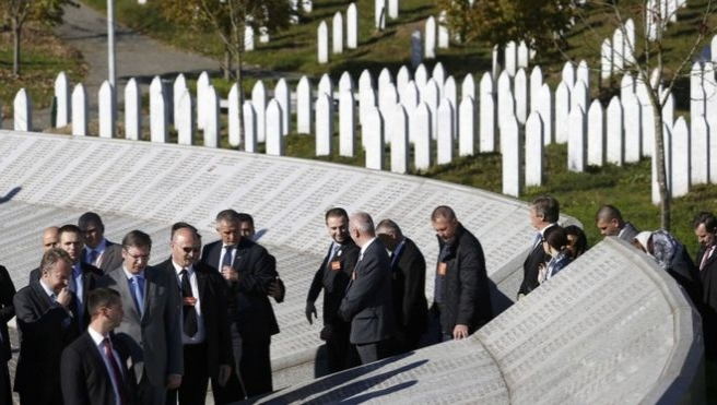 Sırbistan Başbakanı Srebrenitsa'da