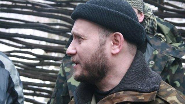 Ukrayna'da Sağ Sektör'ün lideri istifa etti