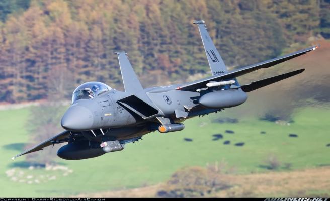 ABD'nin yeni F-15E uçakları İncirlik'te
