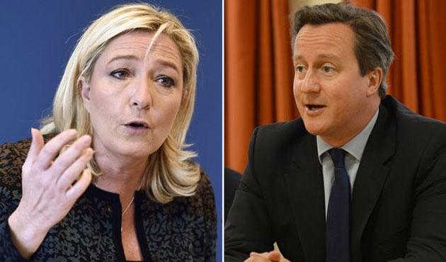 Le Pen'in ilham perisi Cameron çıktı