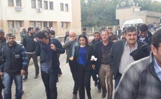 HDP'li vekiller Silvan'daki mahallelere sokulmadı