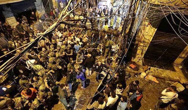 Beyrut'ta saldırıların bilançosu büyüyor