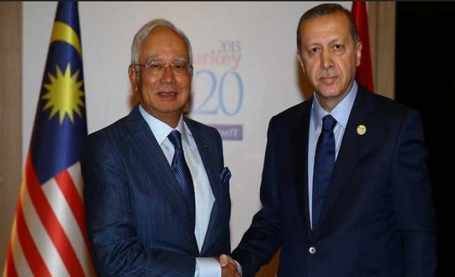 G-20'nin ilk ikili görüşmesi Malezya ile
