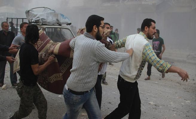 Rusya Halep'e saldırdı: 15 ölü