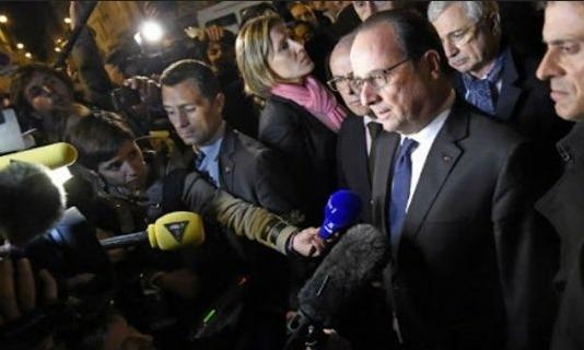 Hollande: IŞİD'in bu saldırıları savaş nedenidir