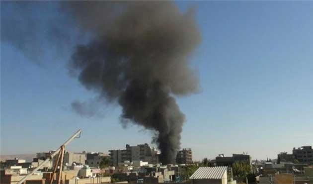 Nusaybin'den dumanlar yükseliyor